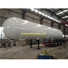 59500L 3 axle Propane Gas Trailer 탱커