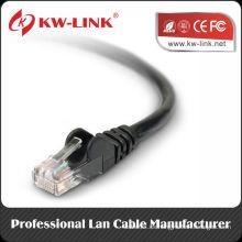 Cat5e Cable de conexión UTP Cable 24awg 26awg Cable trenzado Fluke Test RJ45