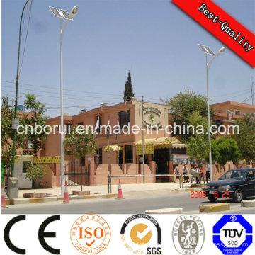 Réverbère solaire de 60W LED pour la lumière solaire solaire extérieure de réverbère de rendement élevé LED