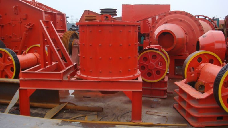 The world famous vertical combination rock crusher for sale