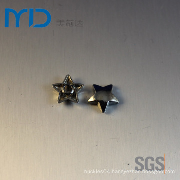 Wholesale Fashion Metal Round Star Shape Rivets for Bags, Sweaters and Shoes