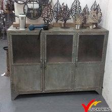 3 Doors Niet Old Aged Vintage Industrial Metall Schrank