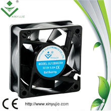 Super Quiet High Velocity Mini DC Fan 6025 60mm 60X60X25mm