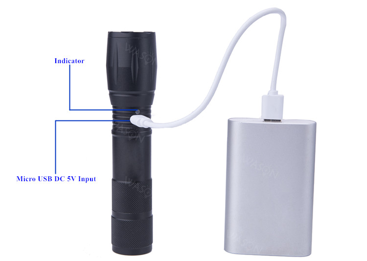 Chargeable Flashlight Torch