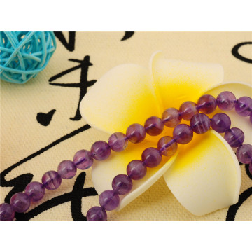 8MM Fashion Amethyst Alloy Bracelet