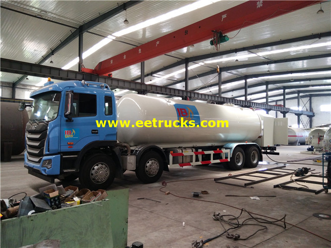 10ton LPG Tank Truck with Pump
