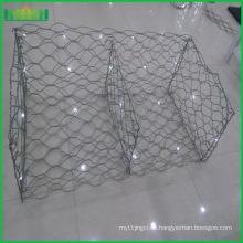 Malla de alambre hexagonal / malla de gavión