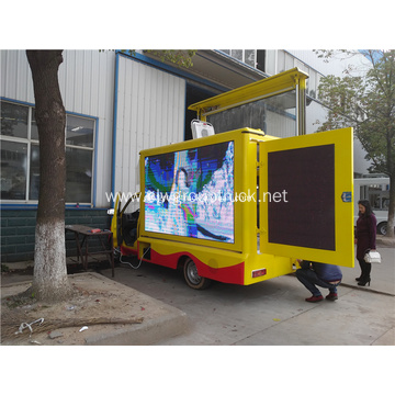 Waterproof LED Screen Display Advertising Vehicle