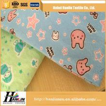 2016 nouveaux designs 100% coton 20x10 imprimé tissu coton tissu flanelle chemise flanelle tissu
