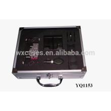 instrument portable aluminium, mallette de transport avec insert en mousse personnalisé
