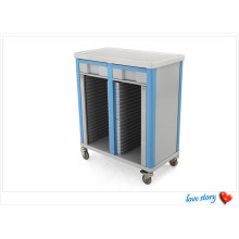 ABS Paitent Record Trolley