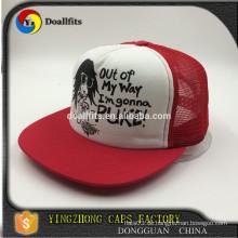 Kundenspezifische fünf Tafel Sommer rote Hysteresen Hut & Mütze