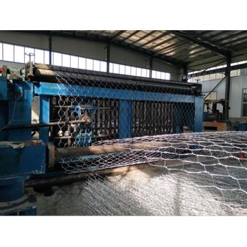 Machine de fabrication de boîtes de gabion