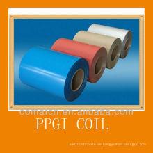 VORLACKIERTER Stahl verzinkt Spulen, verschiedene Farben