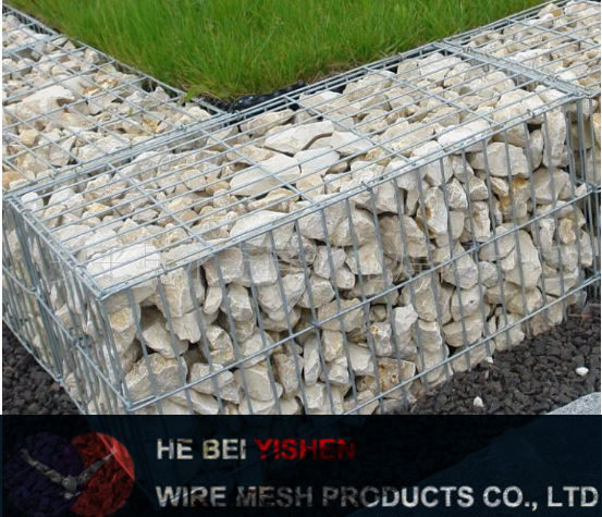 GM galvanized Welded Gabion basket