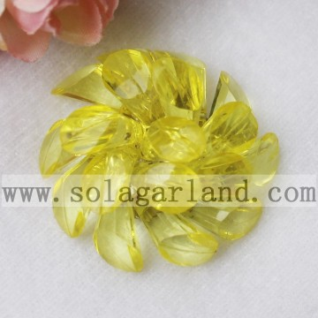 43MM acryl Crystal Horseshoe Beading decoratieve bloemen