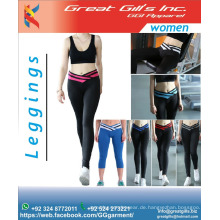 Damengymnastikgamaschen / elastische Leggings / Modeleggings / Strumpfhosen