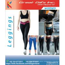 women gym leggings / elastic legging / fashion legging / tights