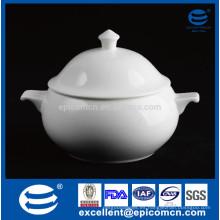 Blanco liso sin cerámica de cerámica de porcelana de impresión