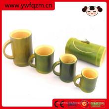 taza de fibra de bambú taza de bambú 100% natural