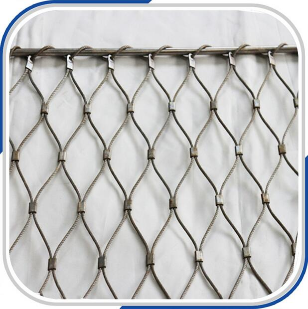 Animal Netting Stainless Steel Cable Mesh