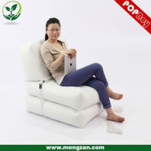 faux leather foldable sectional lounger cushion bean bag