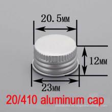 20mm de plástico esencial de aluminio tornillo botella Hat / Cap