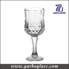 Gobelet de verre à vin rouge classique pressé (GB040208ZS)
