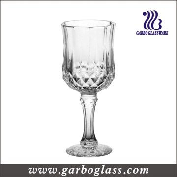 Classical Pressed Red Wine Glass Goblet (GB040208ZS)