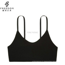 Chine petit soutien-gorge sans bretelles sans bretelles en maille de coton MOQ