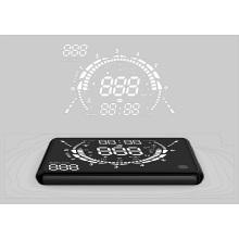 GPS pantalla de Hud para auto alarma de límite de velocidad de vehículo