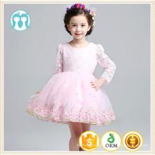 Vente chaude enfants filles de mariage robe de broderie princesse robe pour les filles portent