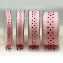 Personalized Wide Grosgrain Printed Ribbon