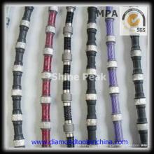 Sierra de alambre de diamante para perfilar para mármol de granito