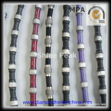 Diamond Wire Saw for Profiling for Granite Marble