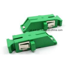 Sc/APC Unibody Shutter Fiber Optical Adapter