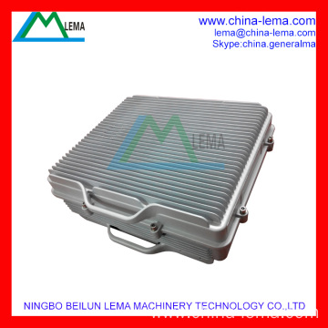 Aluminum die casting communication chassis