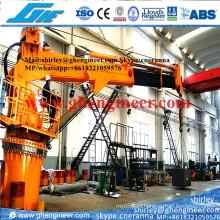 12t@21m Marine Crane Hydraulic (GHE-TB614)