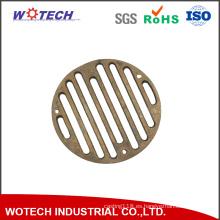 Pieza de metal de desagüe de alta calidad personalizada del dren de la fundición de cobre