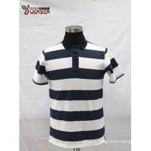 95%Cotton 5%Spandex YD Jacquard Stripe Men's Shirt