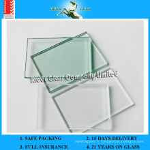 1,5-3 mm Clear Sheet Glass avec AS / NZS 2208