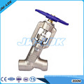 Forged steel 3 inch check globe valve