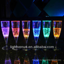жидкий активных свечение шампанское стекло