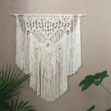 Bohemian Tassel Wall Hanging Tapestry Woven Wall Art Decor