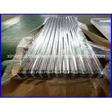 Sgch 0.13-1.0mm Feuille d'acier ondulé avec prix compétitif
