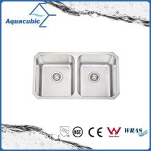 Fregadero de cocina recientemente diseñado de lujo de la fregadero de cocina (AS8348)