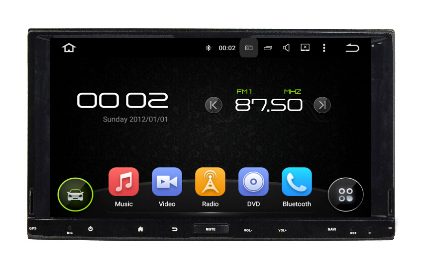 Android Universal per 7.1 System Car Player