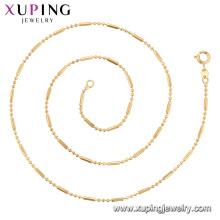 44905 - Colar Chain quente da venda da jóia de Xuping com o ouro 18K chapeado