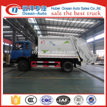 Nueva transmisión manual Dongfeng 10cbm camiones de basura