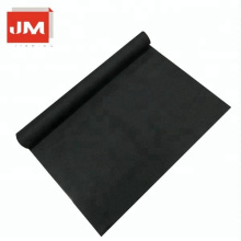 Black walkway carpet non woven thin carpet sarea